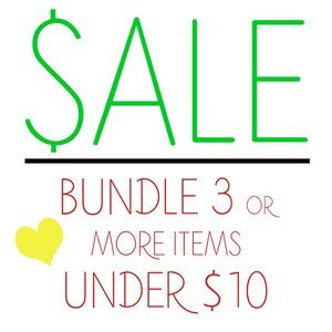 CLOSET CLEAR OUT SALE - Bundle to SAVE!!